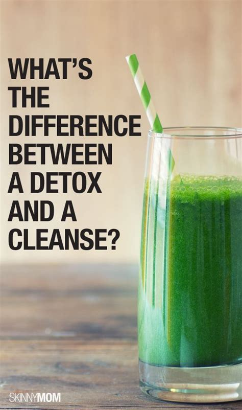 Difference Between Detox And Cleanse by What S The Difference Between A Detox And A Cleanse