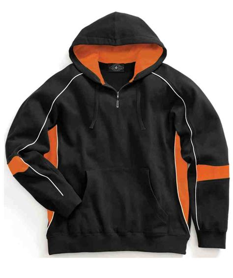 Sweater Black Orange Lis charles river apparel style 9052 victory hooded sweatshirt casual clothing from the best