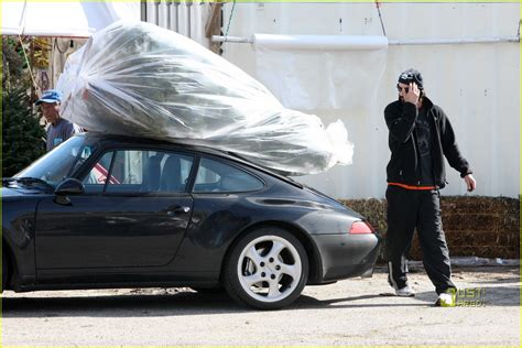 Keanu Reeves Hit Somebody With His Porsche by Keanu Reeves Tree Shopping Photo 2506385