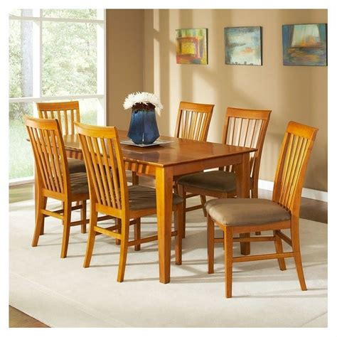 shaker dining room set atlantic furniture shaker 7 piece dining set ad842113xx