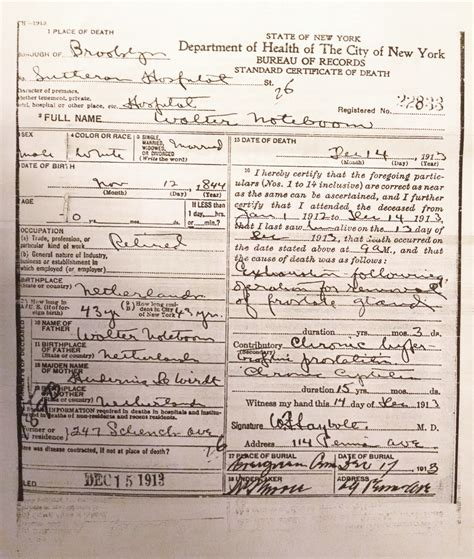 York Hospital Birth Records Roots Of Kinship Solving The Family History Mystery