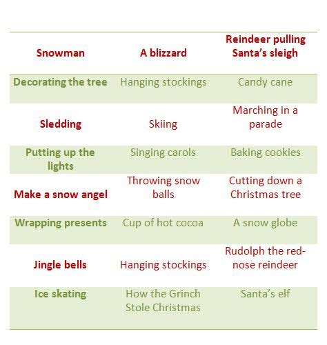 4 best images of christmas charades free printable 99 best images about kids arts and crafts on pinterest
