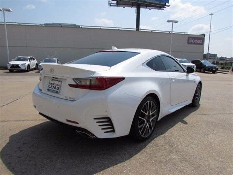 lexus coupe white 2016 lexus rc 350 coupe rwd with 3 516 white 2