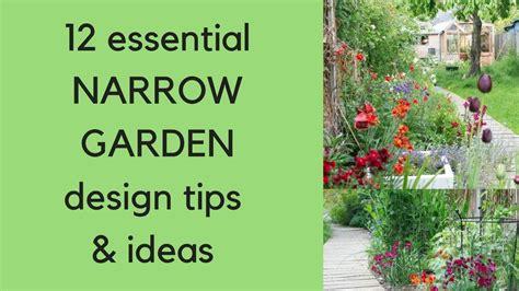 narrow garden ideas 12 narrow garden design tips and ideas