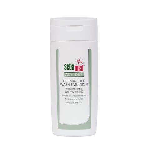 Sebamed Gentle Scrub sebamed anti derma soft wash emulsion 200ml sebamed