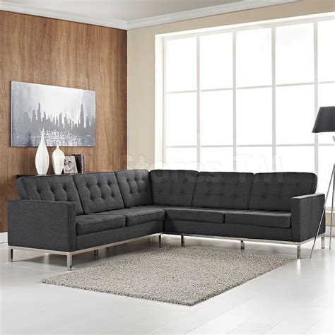 gray l shaped couch l shaped sectional sofas smalltowndjs com