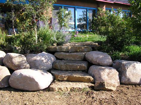 yard large landscaping rocks med art home design posters