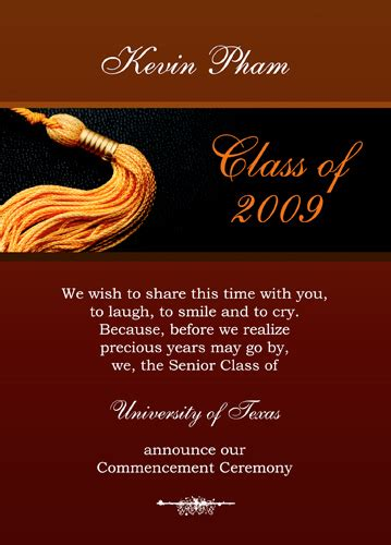 college graduation invitation templates gangcraft net