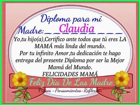 diploma madres diploma para la mejor mama del mundo imagui