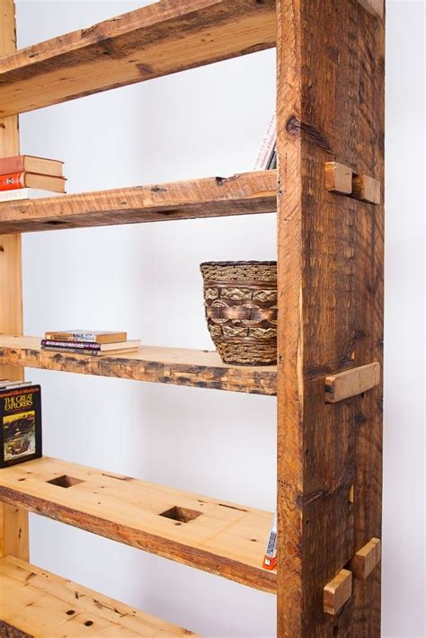 crafted bookcase bookshelf made from pine wood 4 7