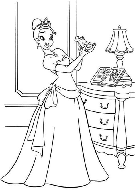 Printable Princess And The Frog Coloring Pages Coloring Me Princess And The Frog Printable