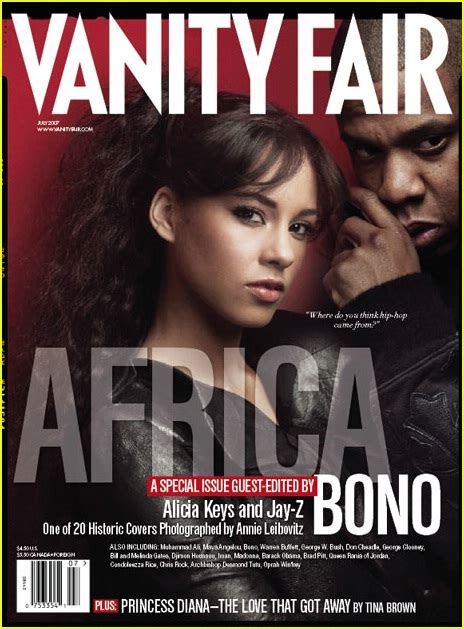 Bonos 20 Vanity Fair Collectable Covers by Vanity Fair Quot Africa Issue Quot 2007 Photo 421721