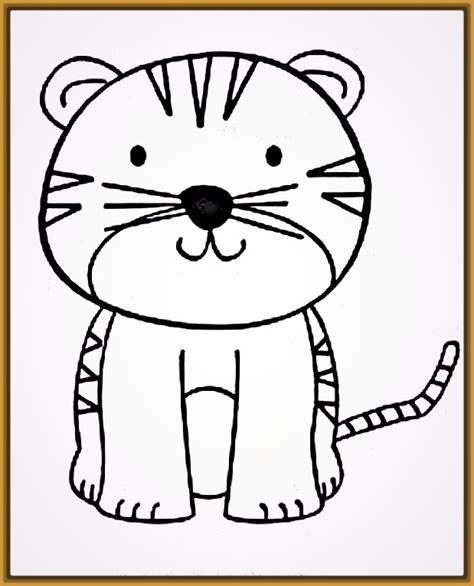 imagenes de tigres para dibujar a lapiz faciles dibujos de tigres a lapiz faciles paso a paso archivos