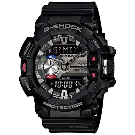 G Shock G Mix Grey casio g shock g mix bluetooth gba 400 1a