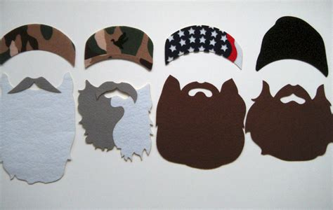 free printable duck dynasty photo booth props unavailable listing on etsy