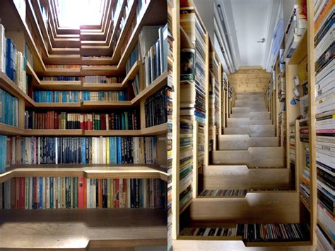 Staircase Bookshelves the staircase bookshelf pictures photos and images for