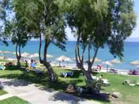 oceanis beach resort hotel kos greece youtube