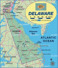 united states map delaware delaware map usa