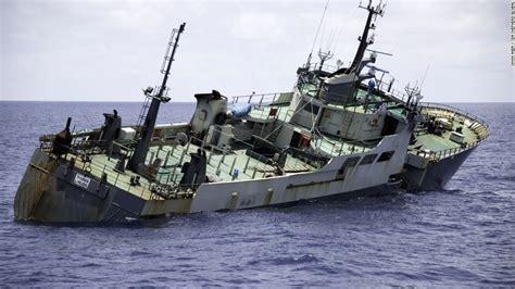 sea shepherd steve irwin sinks sea shepherd ships