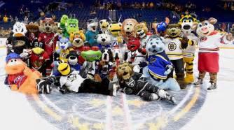 10 nhl mascots