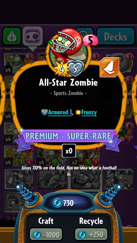 Pvz Heroes Card Template by All Plants Vs Zombies Heroes Plants Vs