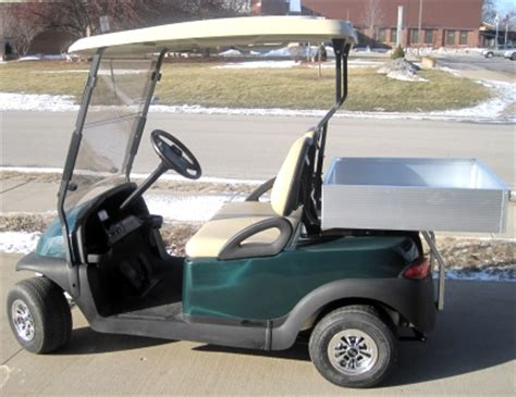 golf cart with bed 48v club car precedent utility golf cart with aluminum