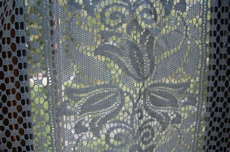 rue de france curtains 8 vintage rue de france country lace curtains unused paris
