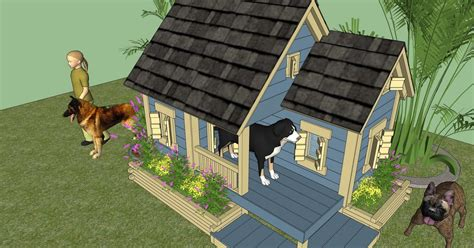 home garden plans news dh dog house plans