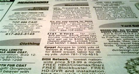 classifieds section 7 ways to get gigs while you sleep