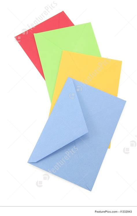 colorful envelopes picture of colorful envelopes
