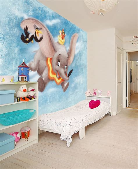 disney wallpaper home decor disney classics dumbo wall mural wallpaper photowall