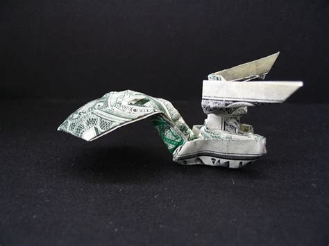 Origami Trek - dollar origami trek enterprise flickr photo