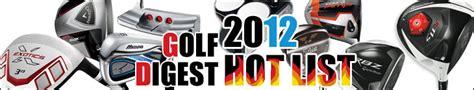 hotlist usa golf digest 2012 hot list fairwaygolf usa online store