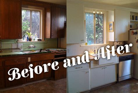 cheap kitchen makeover ideas before and after the and beautiful before and after kitchen