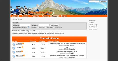 Transalp Motorrad Forum motorradforum honda transalp tourenfahrer