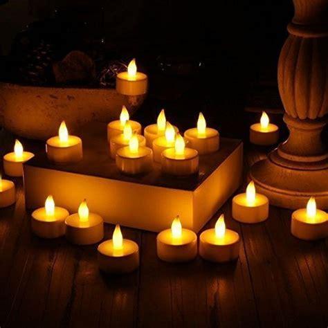 candele con led candle lights webnuggetz