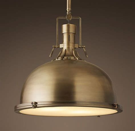Antique Brass Kitchen Island Lighting Harmon 19 Quot Pendant Antique Brass Our Kitchen Pinterest