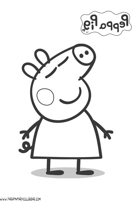 peppa pig para colorear pin dibujos de peppa pig volver a la categoria lmm board