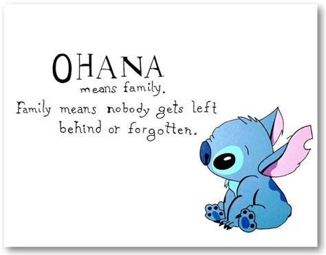 stitches ohana lilo and stitch quot ohana quot painted canvas lots of