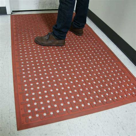 """Kitchen Mat"" Grease Resistant Rubber Mat"