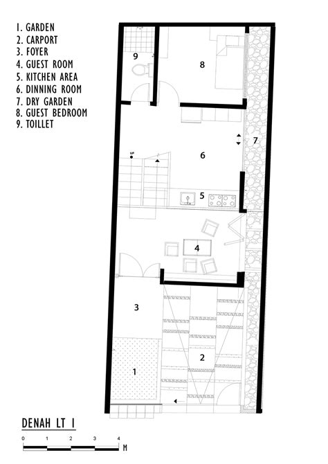 One Story Duplex House Plans gallery of splow house delution architect 24