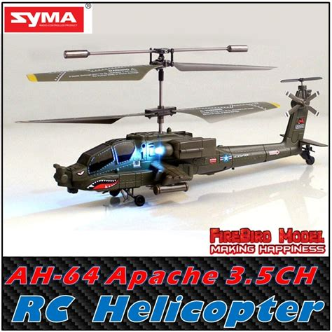 Limited Rc Helicopter Syma S109g 3 5ch Mini Helicopter Ready To Fly Syma S109g Ah 64 Quot Apache Quot 3 5ch Indoor Rc Helicopter