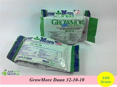 Pupuk Growmore Daun growmore daun 100 gram jualbenihmurah