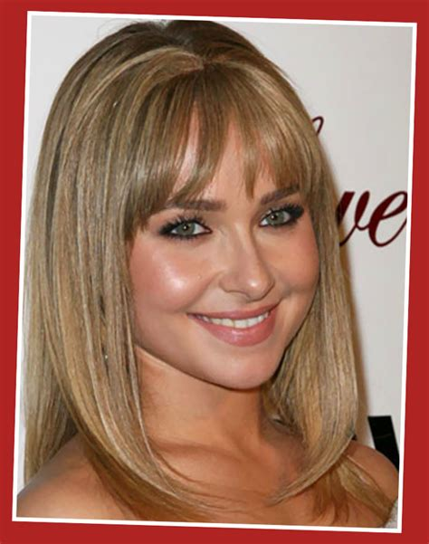 hairstyles blonde mid length medium length blonde hairstyles with bangs 2013 fashion