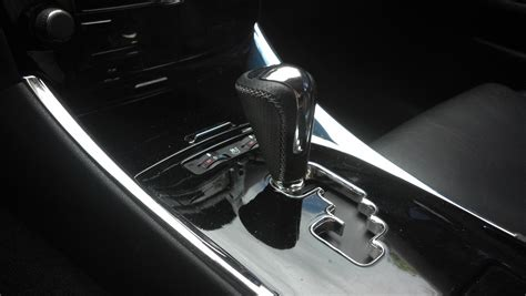 ar custom stitched f sport shift knob with perforated