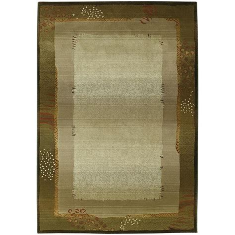 Area Rugs Mobile Al Shop Archer Abbott Green Indoor Area Rug Common 8 X 11 Actual 7 83 Ft W X 11 Ft L At