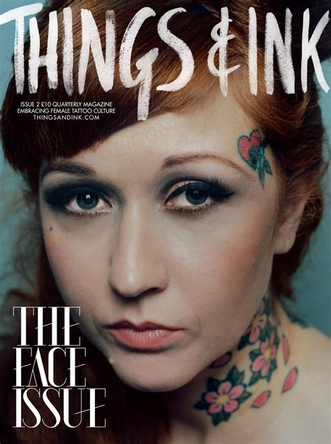 tattoo magazine issue 2 the issue with frances things