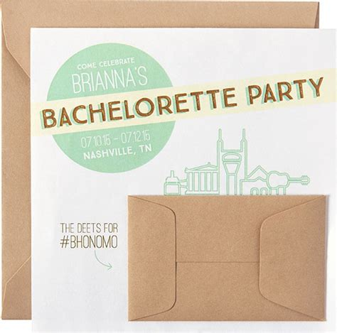 Come With Me Bachelorette Invites by Ideas Inspiration
