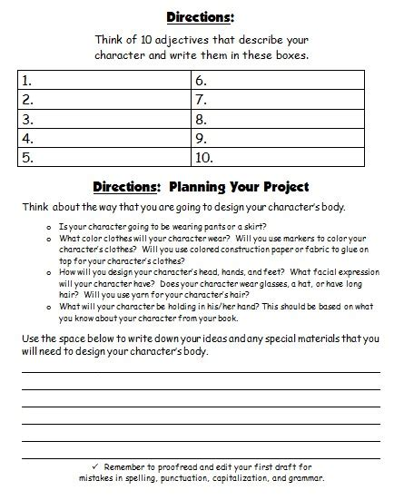 character report card template 4 professional and high