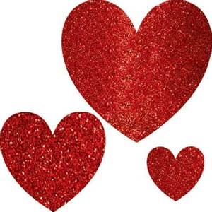 glitter heart cutouts 12ct categories party supplies